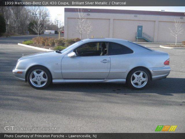 Brilliant Silver Metallic 1999 Mercedes Benz Clk 430