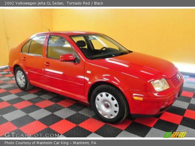 tornado red  volkswagen jetta gl sedan black interior gtcarlotcom vehicle archive