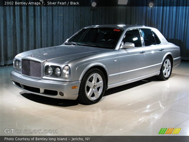 Silver Pearl - 2002 Bentley Arnage T - Black Interior | GTCarLot.com ...