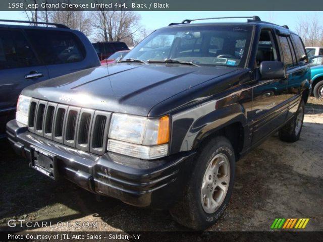 Black 1998 jeep grand cherokee limited 4x4 black interior vehicle archive for 1998 jeep grand cherokee interior