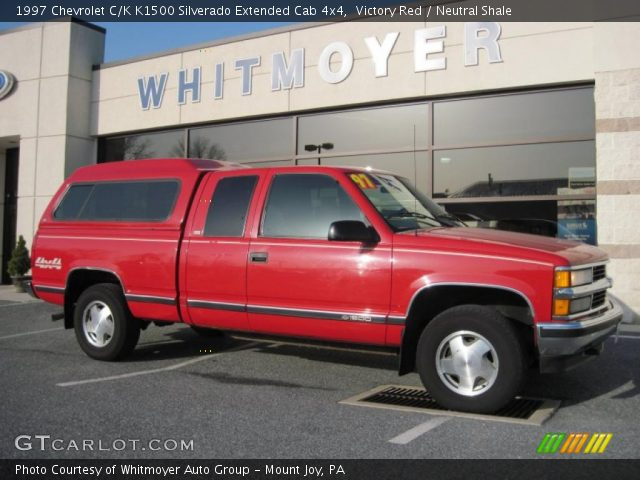 Victory red 1997 chevrolet c k k1500 silverado extended - 1997 chevy silverado interior parts ...
