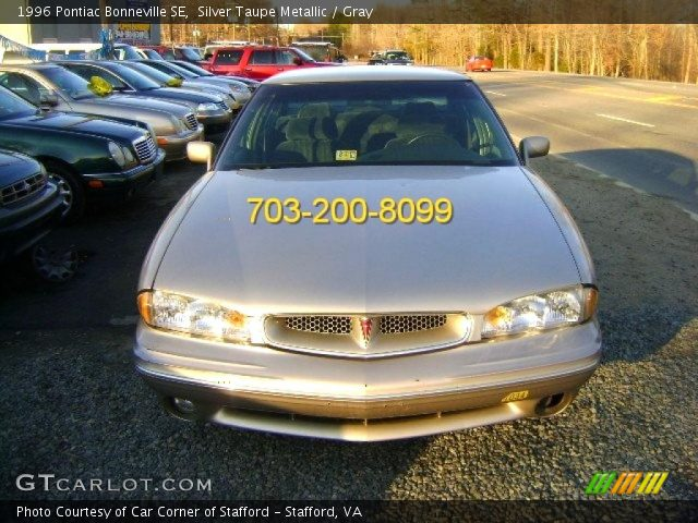 silver taupe metallic 1996 pontiac bonneville se gray. Black Bedroom Furniture Sets. Home Design Ideas