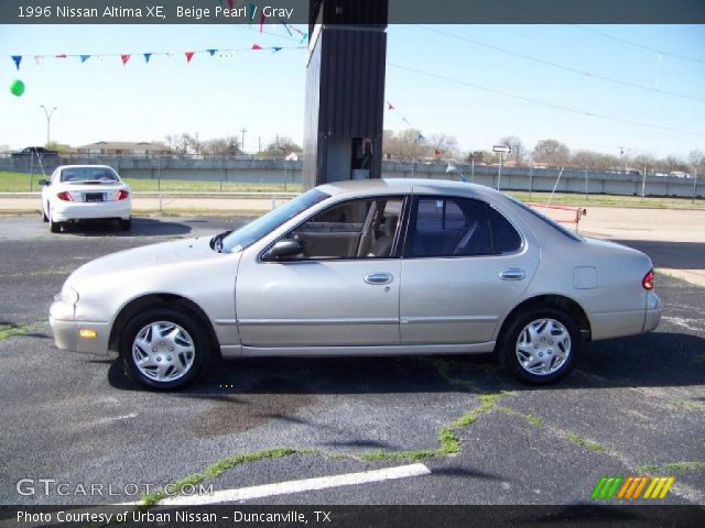 Beige Pearl - 1996 Nissan Altima XE - Gray Interior | GTCarLot.com ...
