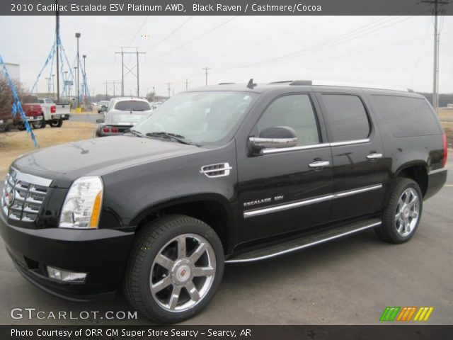 black raven 2010 cadillac escalade esv platinum awd. Black Bedroom Furniture Sets. Home Design Ideas