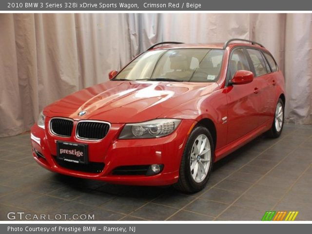 2010 BMW 3 Series 328i xDrive Sports Wagon in Crimson Red