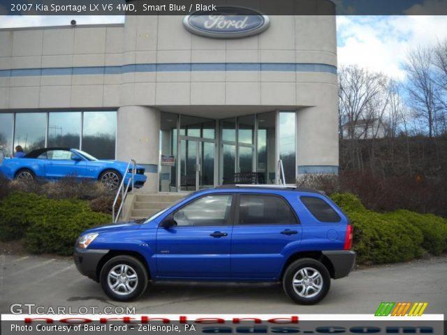 2007 Kia Sportage LX V6 4WD in Smart Blue