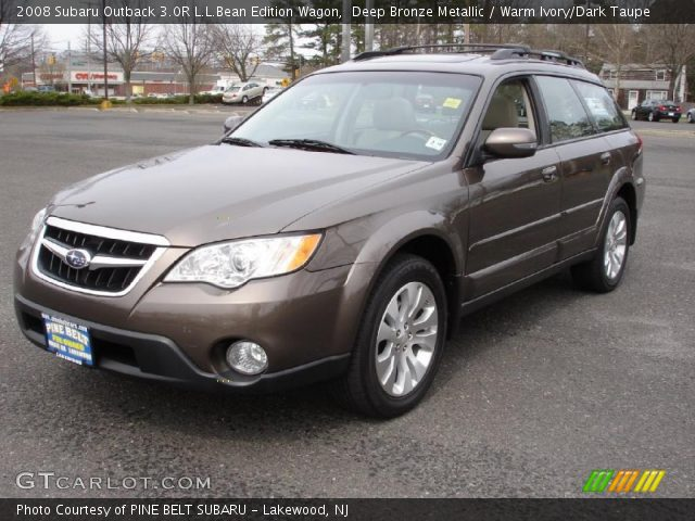 deep bronze metallic 2008 subaru outback 3 0r l l bean. Black Bedroom Furniture Sets. Home Design Ideas