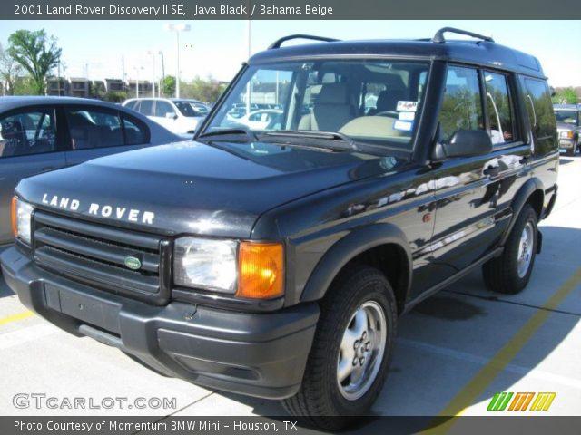 Java Black 2001 Land Rover Discovery Ii Se Bahama Beige Interior Vehicle