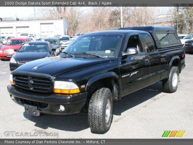 black 2000 dodge dakota sport extended cab 4x4 agate interior vehicle. Black Bedroom Furniture Sets. Home Design Ideas