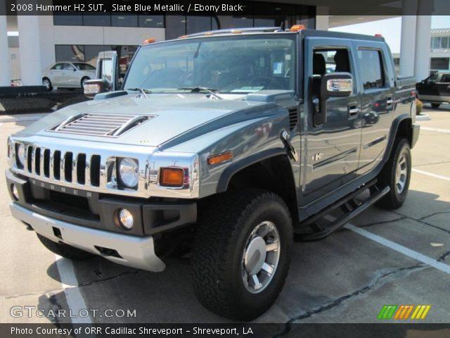 2008 Hummer H2 SUT in Slate Blue Metallic