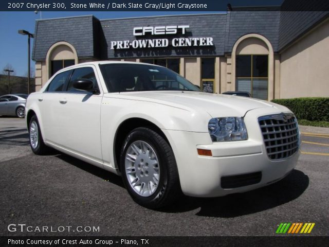 Stone white 2007 chrysler 300 dark slate gray light - 2007 chrysler 300 custom interior ...