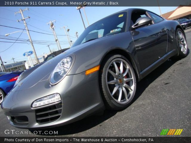 2010 Porsche 911 Carrera S Coupe in Meteor Grey Metallic