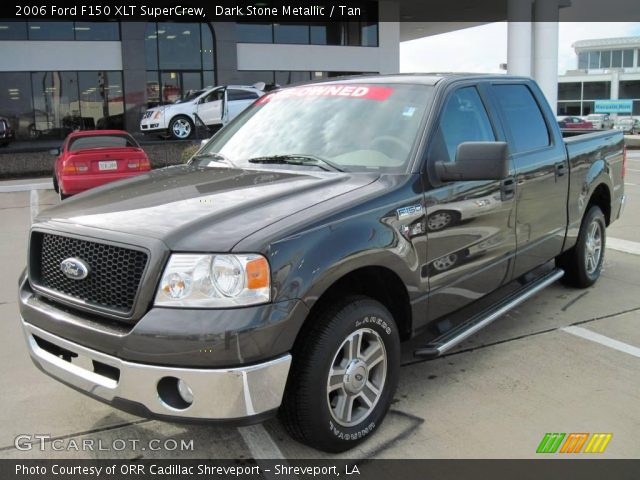 dark stone metallic 2006 ford f150 xlt supercrew tan. Black Bedroom Furniture Sets. Home Design Ideas