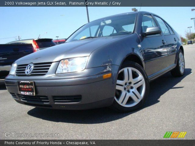 platinum grey metallic 2003 volkswagen jetta glx sedan. Black Bedroom Furniture Sets. Home Design Ideas