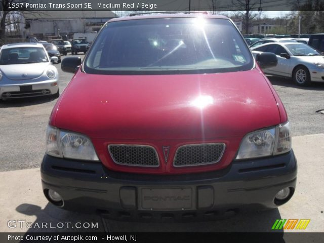 1997 Pontiac Trans Sport SE in Medium Red