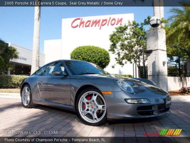 2005 Porsche 911 Carrera S Coupe in Seal Grey Metallic