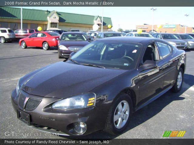 2008 Pontiac Grand Prix Sedan in Dark Mocha Metallic