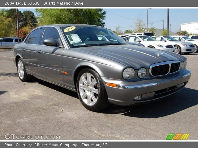 quartz metallic 2004 jaguar xj xj8 dove interior. Black Bedroom Furniture Sets. Home Design Ideas