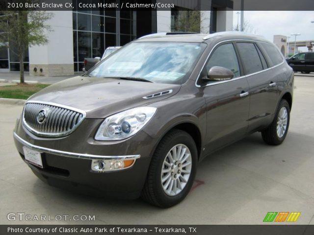 2010 Buick Enclave For Sale >> Cocoa Metallic - 2010 Buick Enclave CX - Cashmere/Cocoa ...