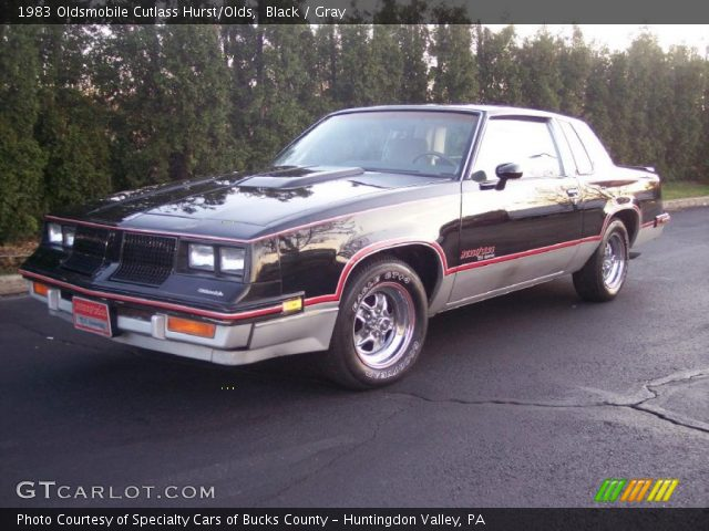 1983 Oldsmobile Cutlass Hurst/Olds in Black