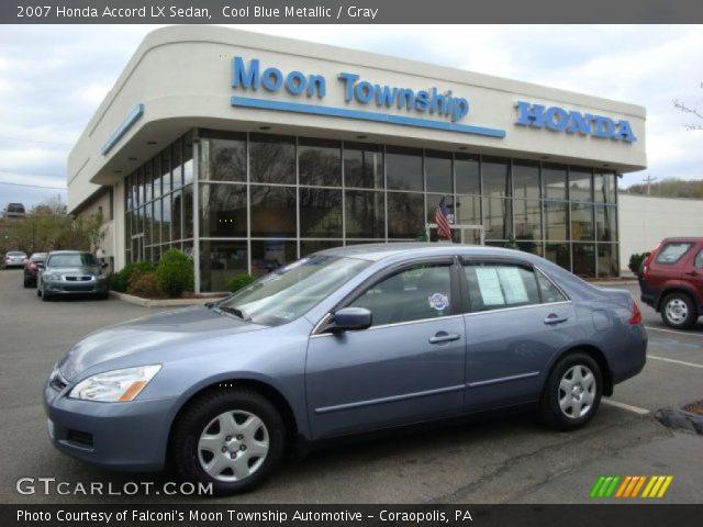 Cool blue metallic 2007 honda accord lx sedan gray for 2007 honda accord lx sedan