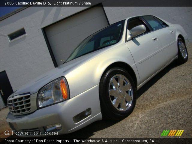 Light Platinum 2005 Cadillac Deville Dts Shale Interior Vehicle Archive