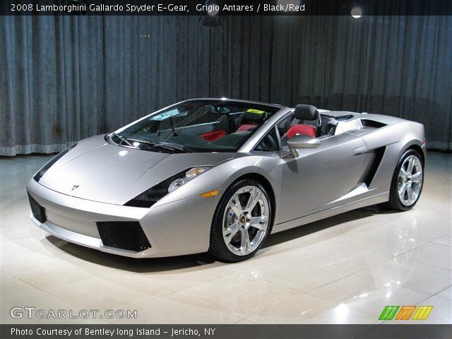 2008 Lamborghini Gallardo Spyder E-Gear in Grigio Antares