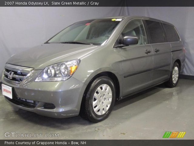 slate green metallic 2007 honda odyssey lx gray. Black Bedroom Furniture Sets. Home Design Ideas