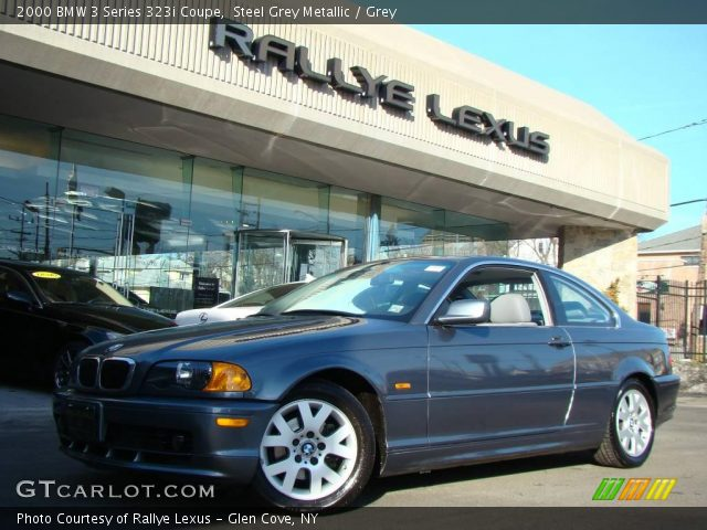 2000 BMW 3 Series 323i Coupe in Steel Grey Metallic