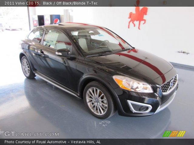 2011 Volvo C30 T5 in Black