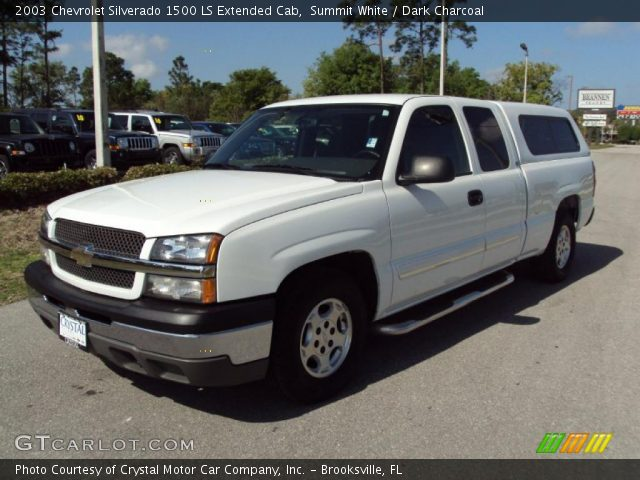 2003 Chevrolet Silverado 1500 LS Extended Cab in Summit White