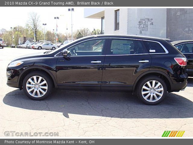 brilliant black 2010 mazda cx 9 grand touring awd. Black Bedroom Furniture Sets. Home Design Ideas