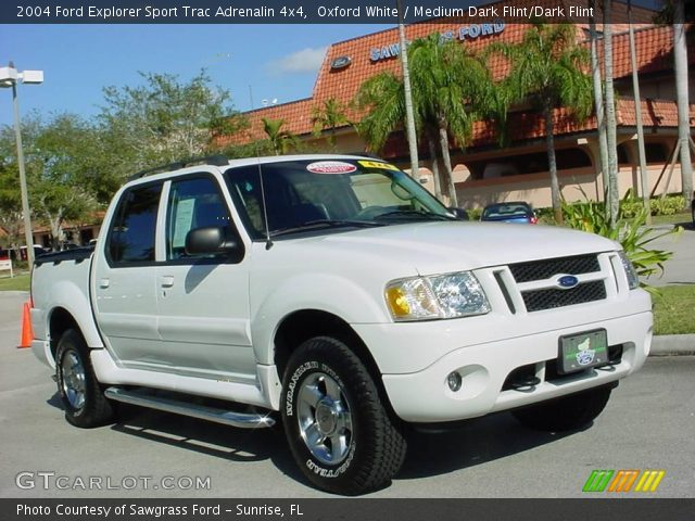 Oxford White 2004 Ford Explorer Sport Trac Adrenalin 4x4 Medium