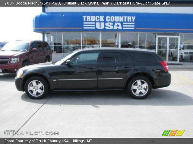 Brilliant Black Crystal Pearl - 2006 Dodge Magnum SXT AWD - Dark Slate ...