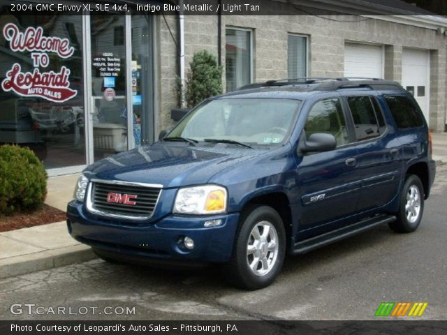 indigo blue metallic 2004 gmc envoy xl sle 4x4 light. Black Bedroom Furniture Sets. Home Design Ideas