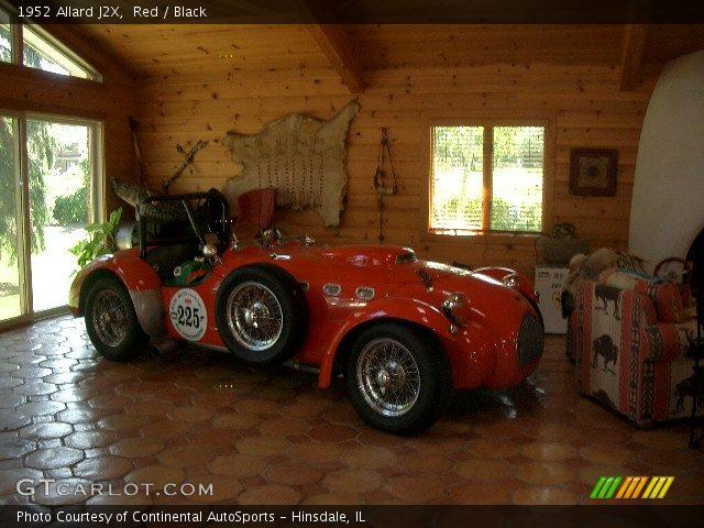 1952 Allard J2X  in Red