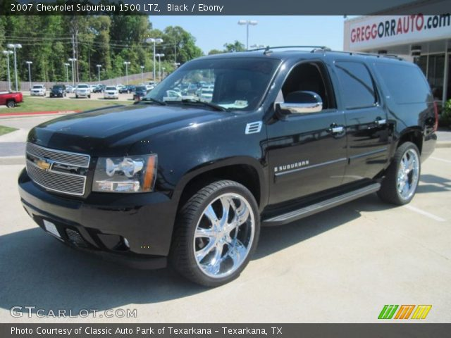 2007 bermuda blue metallic chevrolet suburban 1500 4689286. Black Bedroom Furniture Sets. Home Design Ideas