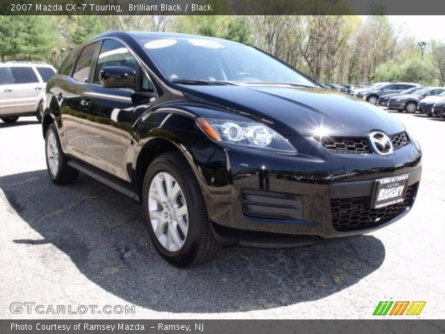 brilliant black 2007 mazda cx 7 touring black interior. Black Bedroom Furniture Sets. Home Design Ideas