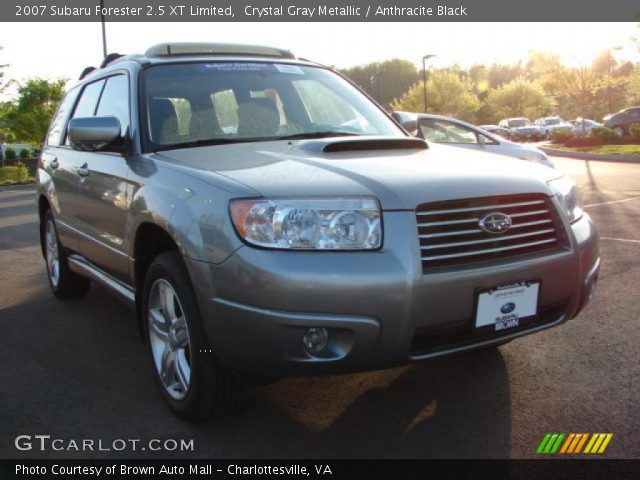 crystal gray metallic 2007 subaru forester 25 xt
