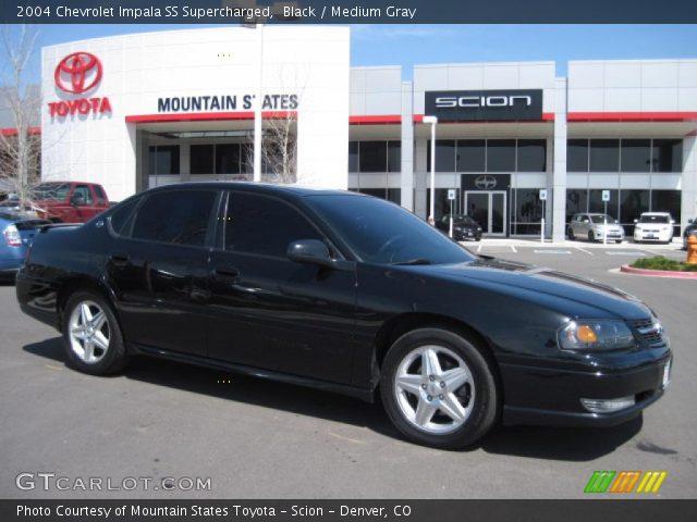 black 2004 chevrolet impala ss supercharged medium gray interior vehicle. Black Bedroom Furniture Sets. Home Design Ideas