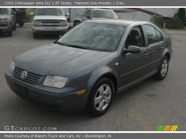 Platinum Grey Metallic - 2003 Volkswagen Jetta GLS 1.8T Sedan - Grey Interior   GTCarLot.com ...