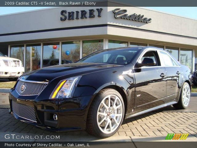 2009 Cadillac CTS -V Sedan in Black Raven