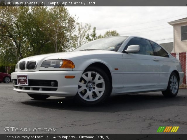 2000 BMW 3 Series 323i Coupe in Alpine White