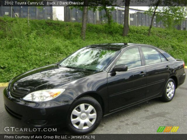 Toyota Camry 2002 Black 2002 Toyota Camry le in Black
