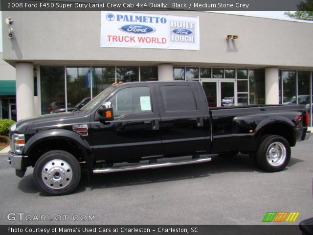 Used 2008 Ford F450 Super Duty Lariat Crew Cab 4x4 Dually ...