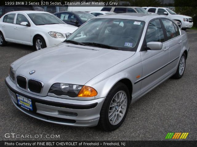 titanium silver metallic 1999 bmw 3 series 328i sedan. Black Bedroom Furniture Sets. Home Design Ideas