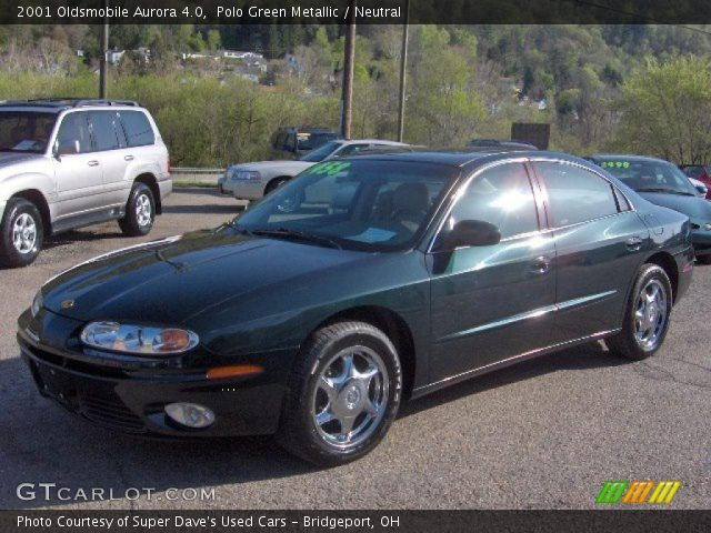 polo green metallic 2001 oldsmobile aurora 4 0 neutral interior vehicle. Black Bedroom Furniture Sets. Home Design Ideas