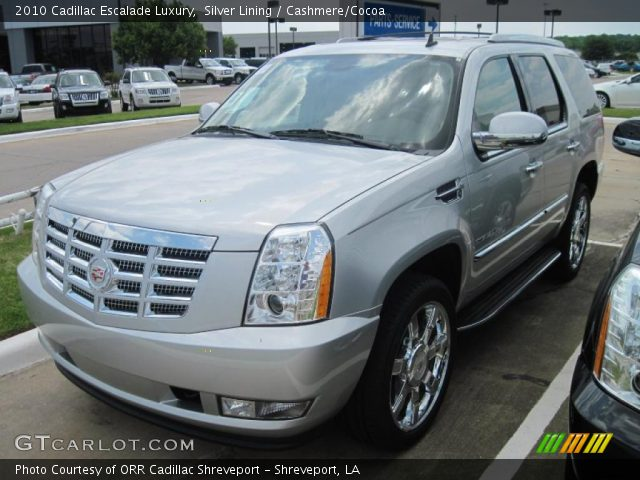 2010 Cadillac Escalade Luxury in Silver Lining