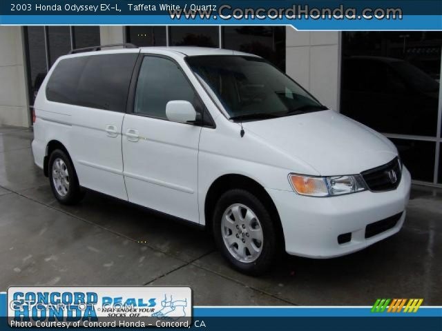 taffeta white 2003 honda odyssey ex l quartz interior. Black Bedroom Furniture Sets. Home Design Ideas