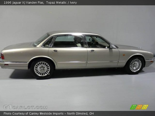 topaz metallic 1996 jaguar xj vanden plas ivory. Black Bedroom Furniture Sets. Home Design Ideas